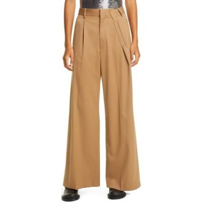メゾン マルジェラ MM6 MAISON MARGIELA レディース ボトムス・パンツ Pleat High Waist Pants Camel
