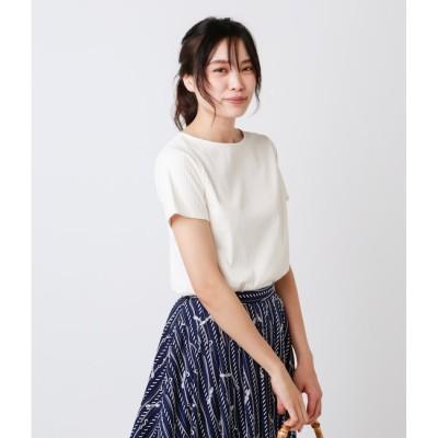 【ニューヨーカー/NEWYORKER】 チュールストライプ おとなTシャツ(スーツインナー対応)