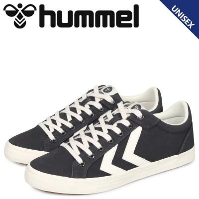 hummel ヒュンメル デュース コート スニーカー メンズ レディース DEUCE COURT グレー HM206425-2366