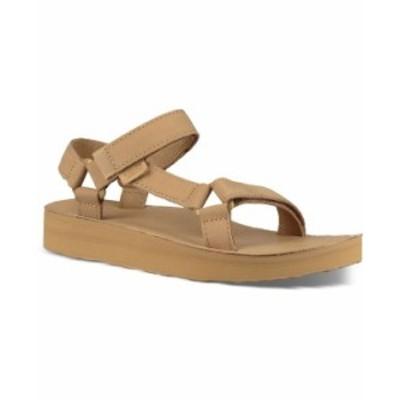 テバ レディース サンダル シューズ Women's Midform Universal Leather Sandals Desert Sand