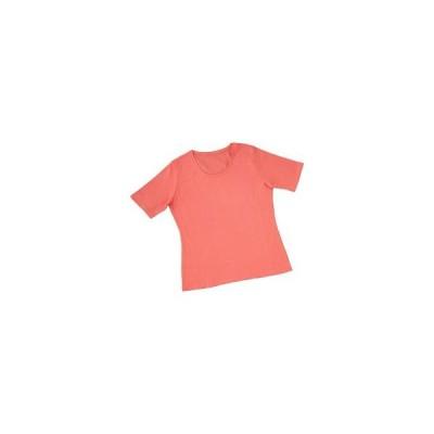 汗ジミ対策 Tシャツ Mサイズ コーラルピンク ( 1枚入 )