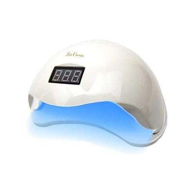 LED & UV ネイルライト 48W 業界注目低ヒート機能 全ジェル対応  自動感知センサー ジェルネイル レジン用