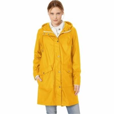 リーバイス Levis レディース レインコート アウター Rubberized PU Fishtail Rain Parka Yellow