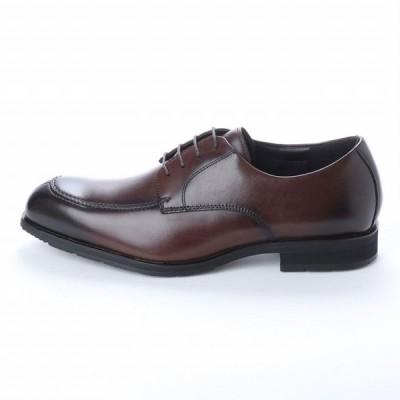 マドラス  madras アビーロード ABBEY ROAD AB6503 防水 幅広設計 本革 ビジネスシューズ メンズシューズ 紐Uモカ  革靴 紳士靴 ダークブラウン