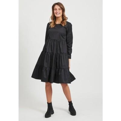 ヴィラ ワンピース レディース トップス Day dress - black