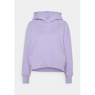カルバンクライン パーカー・スウェットシャツ レディース アウター MICRO BRANDING  - Hoodie - palma lilac