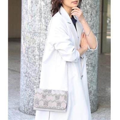 【ロペ マドモアゼル/ROPE mademoiselle】 【WEB限定】【結婚式にも】ビーズ刺繍 パーティーバッグ