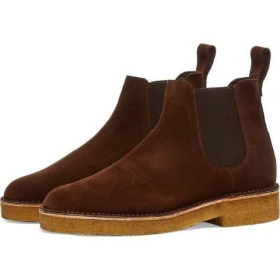 クラークス Clarks Originals メンズ ブーツ シューズ・靴 Desert Chelsea 2 Chocolate Sde