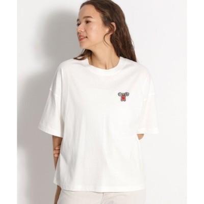 tシャツ Tシャツ スポーツワッペンTシャツ