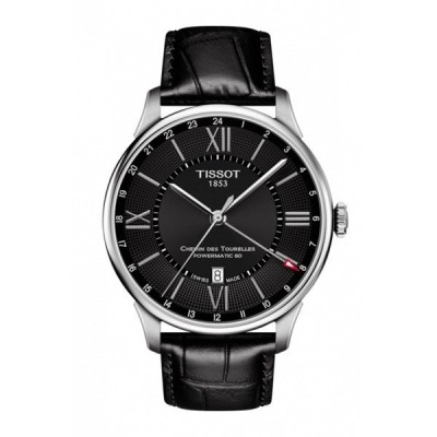 正規品 TISSOT ティソ シュマン・デ・トゥレル オートマティック GMT パワーマティック80 メンズ腕時計 自動巻き 送料無料 T099.429.16.058.00