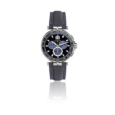 Men's Watch Michel Herbelin - 36656/AN65 - Newport - Chronograph - Date - Black and Blue 並行輸入品