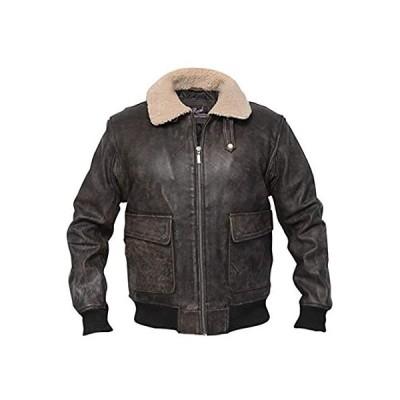 RSH Leathercraft OUTERWEAR メンズ US サイズ: Large カラー: ブラウン