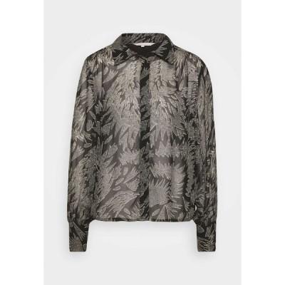 パートトゥー シャツ レディース トップス ESMA  - Button-down blouse - black