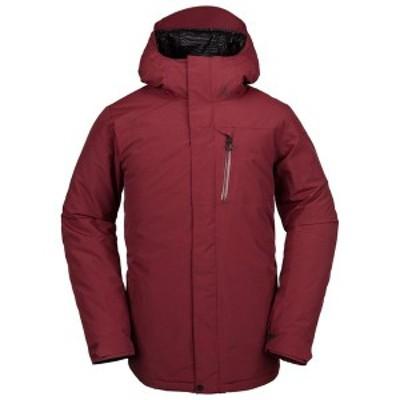 ボルコム メンズ ジャケット・ブルゾン アウター Volcom L GORE-TEX Jacket Burnt Red
