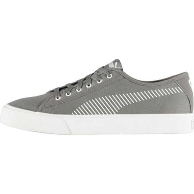 プーマ Puma メンズ スニーカー シューズ・靴 Bari Canvas Trainers Grey