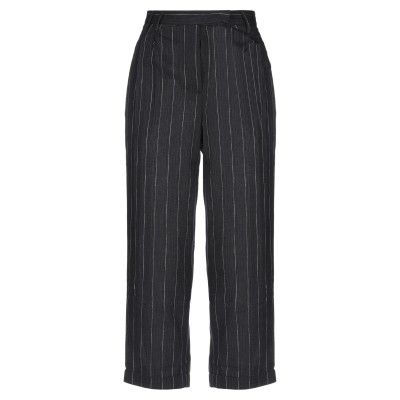 WEILI ZHENG パンツ ブラック XS コットン 100% パンツ