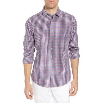 ロッドアンドガン メンズ シャツ トップス Macreas Flat Regular Fit Sport Shirt FUSCHIA
