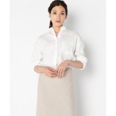 HELIOPOLE / リネンレギュラーシャツ WOMEN トップス > シャツ/ブラウス