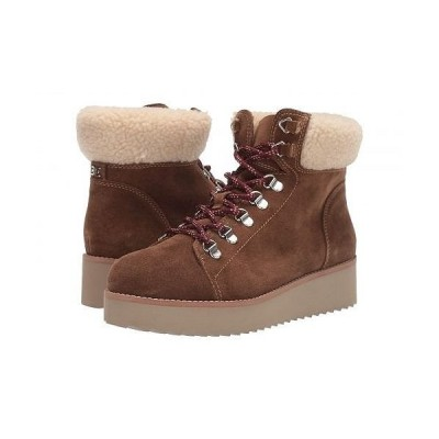 Sam Edelman サムエデルマン レディース 女性用 シューズ 靴 ブーツ レースアップブーツ Franc - Toffee Brown/Natural Wr Velutto Suede Leather/Faux Fur