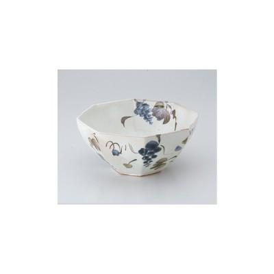 器蔵 多様鉢(丸・変形)18〜26cm粉引ぶどう八角大鉢