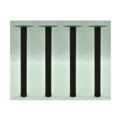 エイ・アイ・エス テーブル脚4本セット/TL-01BKx4 ブラック/脚直径6cm高さ69.5cm