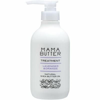 MAMA BUTTER(ママバター) ママバター 無添加 ノンシリコン トリートメント ラベンダー&オレンジ 500ml 洗い流すタ