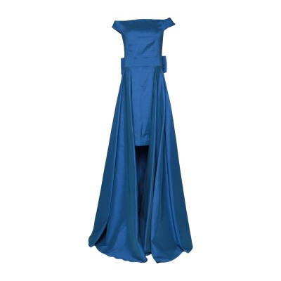 ALESSANDRO LEGORA ミニワンピース&ドレス ブライトブルー 42 ポリエステル 98% / ポリウレタン 2% ミニワンピース&ドレス