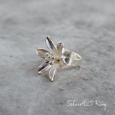 シルバー silver 925 リング 指輪 アクセサリー メンズ レディース ユニセックス シンプル 個性的 つけっぱなし ごつめ フリーサイズ srg-0032