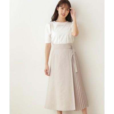 スカート ◇サイドプリーツスカート