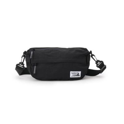 (Dessin/デッサン)Healthknit Product シワナイロンショルダーバッグ/メンズ ブラック(019)