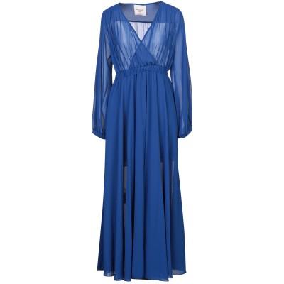 MARIUCCIA 7分丈ワンピース・ドレス ブライトブルー 42 ポリエステル 100% 7分丈ワンピース・ドレス