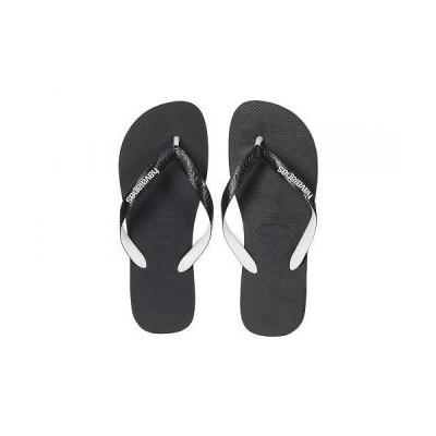 Havaianas ハワイアナス メンズ 男性用 シューズ 靴 サンダル Top Mix Flip Flops - Black/Black