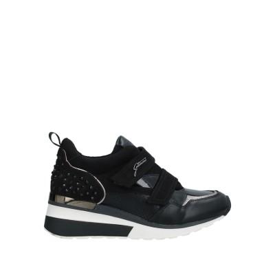 ガッティノーニ GATTINONI スニーカー&テニスシューズ(ローカット) ブラック 36 紡績繊維 スニーカー&テニスシューズ(ローカット)