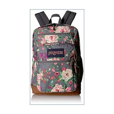 Jansport Women's Cool Student Polyester Backpack - Grey Bouquet Floral 並行輸入品