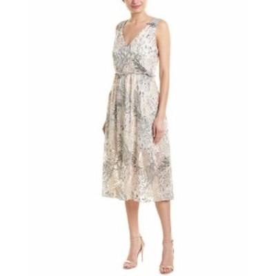 ファッション ドレス Hutch Silk Midi Dress