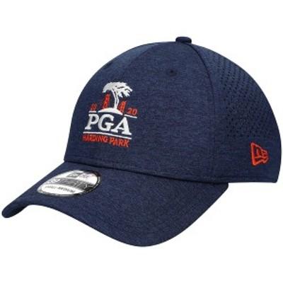 ニューエラ メンズ 帽子 アクセサリー 2020 PGA Championship New Era Shadow Tech Perforated 39THIRTY Flex Hat Blue