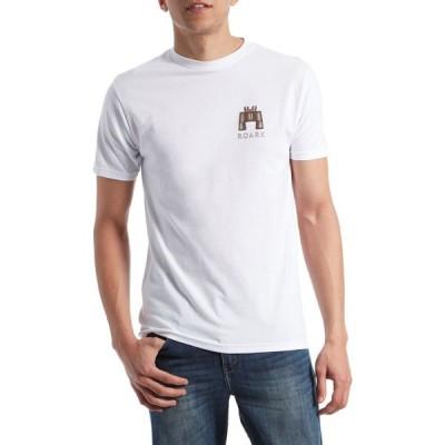ローアク Roark メンズ Tシャツ トップス Survival Kit T-Shirt White