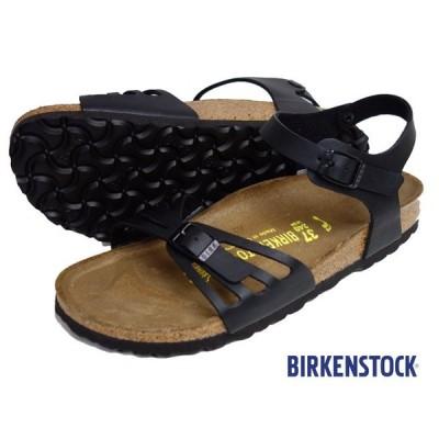 BIRKENSTOCK ビルケンシュトック BALI バリ サンダル レディース アンクルストラップ ブラック 085043