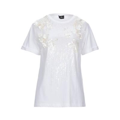ELISABETTA FRANCHI T シャツ アイボリー 38 コットン 100% T シャツ