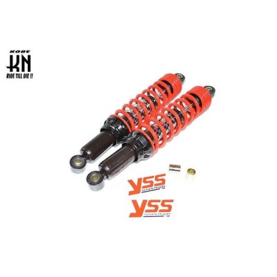 スーパーカブ90(CUB) YSS リアショック 350mm 黒/レッド  KN企画