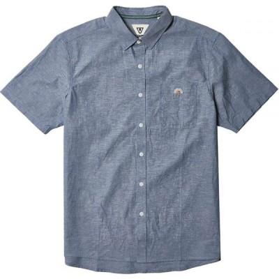 ヴィスラ Vissla メンズ 半袖シャツ トップス Sets Eco Shirt Harbor Blue