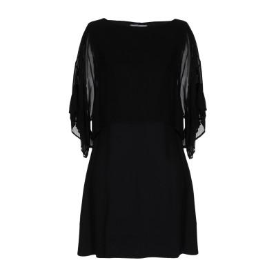 ジャッカ JUCCA ミニワンピース&ドレス ブラック 38 レーヨン 95% / ポリウレタン 5% ミニワンピース&ドレス