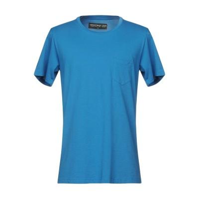 デパートメント 5 DEPARTMENT 5 T シャツ アジュールブルー S 100% コットン T シャツ