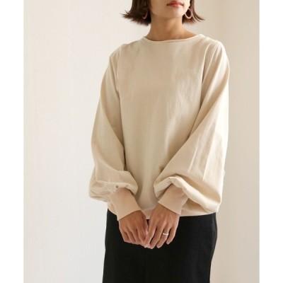 tシャツ Tシャツ 【HERCLOSET】◆WEB限定◆ボリューム袖プルオーバー/ロングスリーブTシャツ