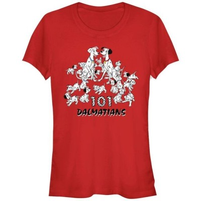 フィフスサン レディース Tシャツ トップス Women's 101 Dalmatians Group Short Sleeve T-shirt