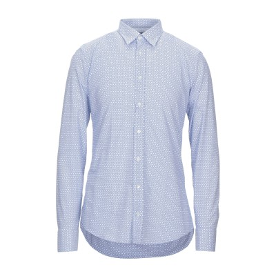 DE LAMP シャツ ブルー XL コットン 100% シャツ