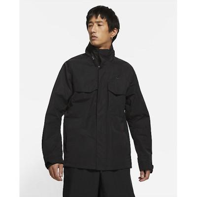 <NIKE(Men)/ナイキ> ブルゾン NSW フーデッドM65ジャケット CZ9880-010 BLACK【三越伊勢丹/公式】