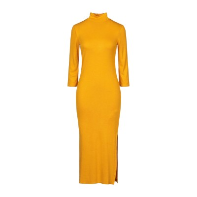 リュー ジョー LIU •JO ロングワンピース&ドレス オークル S レーヨン 95% / ポリウレタン 5% ロングワンピース&ドレス