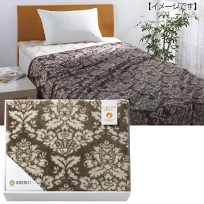 毛布 ニューマイヤー ポリジン加工 昭和西川  寝具