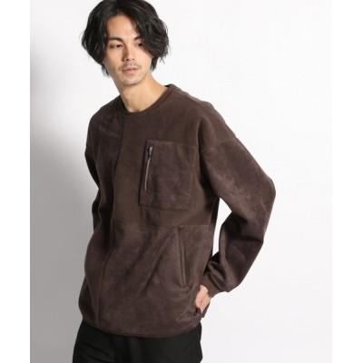 niko and... / フェイクスエードパッチワークプルオーバー MEN トップス > Tシャツ/カットソー